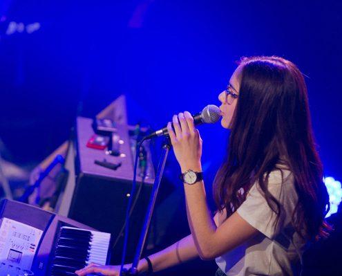 piano, chant